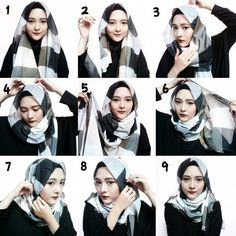 This is a quick and easy hijab style you can go with during all your casual days, it's perfect for summer days as it's loose. These are the steps for this look: 1. Place the hijab on your head equally…