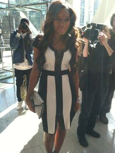 Great look for Angela Simmons