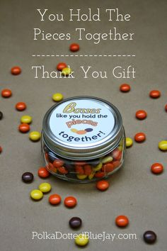 Thank you gift for bosses day - You hold the pieces together employee recognition Employee Appreciation Gifts, Employee Gifts, Employee Rewards, Gifts For Your Boss, Gifts For Coworkers, Gift Ideas For Boss, Admin Day, National Bosses Day, Administrative Professional Day