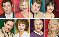 Gavin and Stacey never fails to make me smile. I'm glad they kept to three series - every episode a winner! British Tv Comedies, British Comedy, Joanna Page, Larry Lamb, Ruth Jones, Rob Brydon, Gavin And Stacey, Bbc Three, Great Smiles