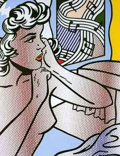 Roy Lichtenstein... I like the idea of music in the background