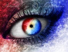 Fourth of July-Patriotic Eye