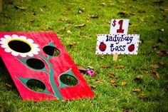 ladybug toss