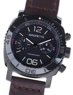 Magrette Moana Pacific Chronograph Watch. Great Kiwi brand