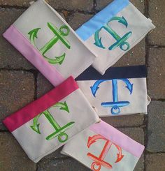 Small practical and fashionalble gift idea. Nautical and coastal theme wristlets.  http://www.oceanofferings.com/wristlets.html