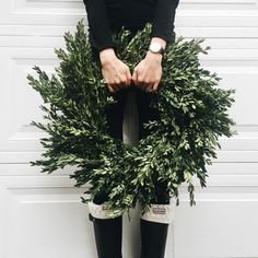Feb 2018 - Large or small, ornate or simple, modern or classic, we can't get enough of these wonderful wreaths. See more ideas about Wreaths, Christmas wreaths and Christmas decorations. Christmas Time Is Here, Merry Little Christmas, Noel Christmas, All Things Christmas, Winter Christmas, Christmas Wreaths, Christmas Decorations, Christmas Hair, Fall Winter