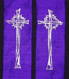 Yvonne Bell Christian Art and Church Vestments - Vestments - Purple