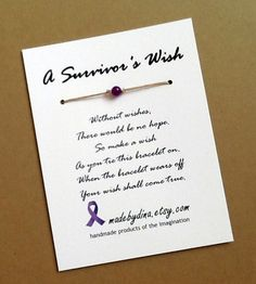 @Karen Ventimiglia , what do you think???  Great Relay for Life Survivor Gift