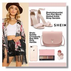 """shein"" by aminkicakloko ❤ liked on Polyvore featuring LunatiCK Cosmetic Labs"