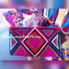 Handwoven #Ethnic Clutch    #kalamataethnic #tribal #ethnic #crochet #oneofakind #live #yoga #hippie #handwoven #handmade #colorful #love #tuesday #love #breathe #mandala #indianbag #southamerica #bohobag #boho #bag #bohemian #indie #style #hippiebag #freespirit #phrases #quotes #phrase #quote