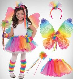 Shop for cute Halloween costumes for girls at affordable prices. We offer little and teen girl Halloween costumes featuring your favorite characters and themes. Girls Butterfly Costume, Fairy Costume For Girl, Little Girl Costumes, Fairy Halloween Costumes, Clown Costume Women, Pixie Costume, Beanie Boo Birthdays, Fairy Birthday Party, 4th Birthday