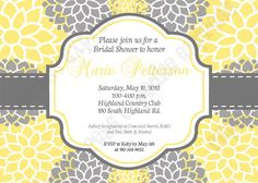 DIY  Sunshine Chic  PRINTABLE Shower Invitation by CupcakeExpress, $14.00