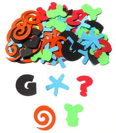 Goofy Themed Party Confetti Set of 100 by ScrapsToRemember on Etsy, $3.50