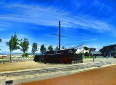 Replica of Comet, Europe's first commercial steam ship,  Greenock