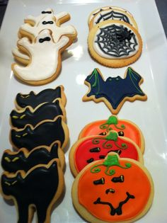 Halloween Sugar Cookies #food #recipe