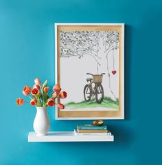 The Giving Tree with Bicycle and Hanging by SilverGrottoDesigns, $10.00