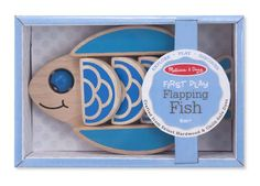Flapping Fish Baby & Toddler Toy | Melissa & Doug