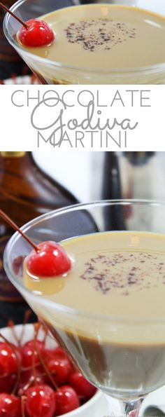 Sweet, creamy and chocolate. That's all you need to know about this Godiva Chocolate Martini recipe. It uses Godiva chocolate liqueur, creme de cacao and Stoli vanilla vodka. Godiva Chocolate Liquor, Chocolate Liqueur, Chocolate Espresso Martini Recipe, Coffee Martini Recipe, Chocolate Cocktails, Hot Chocolate, Vodka Recipes, Martini Recipes, Punch Recipes