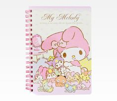 My Melody Spiral Notebook: Heart