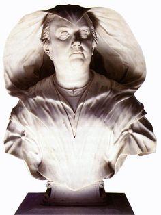 Bust of Donna Olimpia Maidalchini 1646-47, Alessandro ALGARDI,  Marble, height 70 cm Galleria Doria Pamphilj, Rome