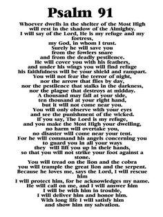 psalm 91 prayer * psalm 91 prayer - psalm 91 prayer scriptures - psalm 91 prayer faith - psalm 91 prayer secret places - psalm 91 prayer kjv - psalm 91 prayer of protection - psalm 91 prayer bible verses - psalm 91 prayer catholic Psalm 91 Prayer, Bible Psalms, Prayer Scriptures, Bible Prayers, Faith Prayer, God Prayer, Bible Verses Quotes, Faith Quotes, Prayer Cards