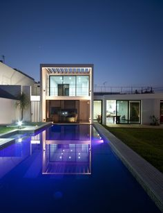 And this is what the back of the really old house will look like.  Except without the pool, because of liability issues.
