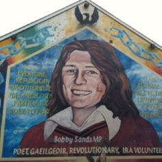 Bobby Sands Mural-Derry
