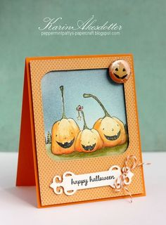 Cute handmade Halloween card