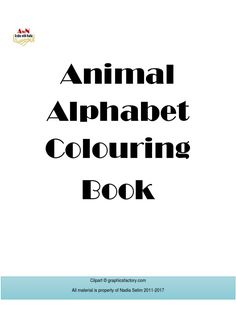 Get the AWN Alphabet Coloring Book on Scribd Alphabet Coloring, Coloring Books, Animal Alphabet, Learning Arabic, How To Introduce Yourself, Clip Art, Vintage Coloring Books, Coloring Pages, Pictures
