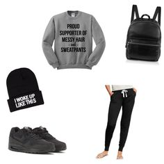 Sweatpants day by twinsiees on Polyvore  Bow down bitches! Check it out!