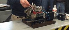 This Fully Functional Mini Porsche Engine Is Freaking Spectacular