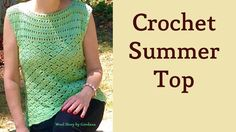 Summer Top – Crochet Lace Blouse (Heklana letnja bluza)