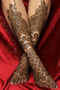 bridal mehndi or henna design