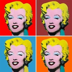 Free art history curriculum with activities -- featuring Andy Warhol