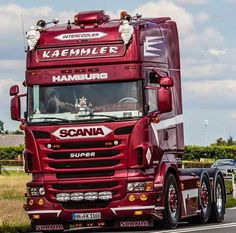 SCANIA TRUCK Scania V8, Show Trucks, Volvo, Vehicles, Pictures, Tractor, Passion, Star, Instagram