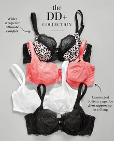 Boasting beautiful lace detailing, our DD+ lingerie collection provides ultimate comfort. - heidi klum intimates, lingerie garter belt, lingerie femme *sponsored https://www.pinterest.com/lingerie_yes/ https://www.pinterest.com/explore/intimates/ https://www.pinterest.com/lingerie_yes/christmas-lingerie/ http://www.slate.com/articles/double_x/doublex/2016/05/what_is_a_bralette_lingerie_experts_explain.html