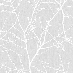 Papier peint avec motif de bourgeons - Rouleau double/Papiers peints/Décor mural Bouclair.com