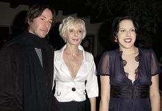 Keanu Reeves, mother & sister