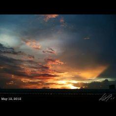 夕焼け #sunset #sky #cloud #philippines #フィリピン #空 #雲 #夕日