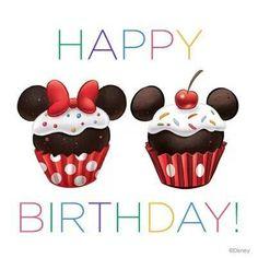 Birthday, disney, and memes: happy birthday disney birthday memes wis Happpy Birthday, Happy Birthday Text, Happy Birthday Messages, Belated Birthday, Happy Birthday Greetings, Birthday Fun, Birthday Celebration, Birthday Cupcakes, Mickey Cupcakes