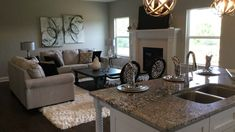 Photos: Check Out the Grantham, A New Ranch Home Available Now   Crown Highland WoodsCrown Highland Woods