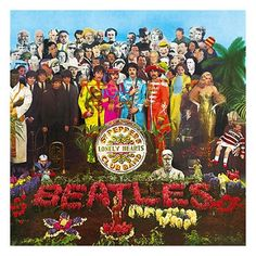 Sergeant Peppers Lonely Hearts Club Band (Silkscreen Signed Limited Edition of 500) by Peter Blake