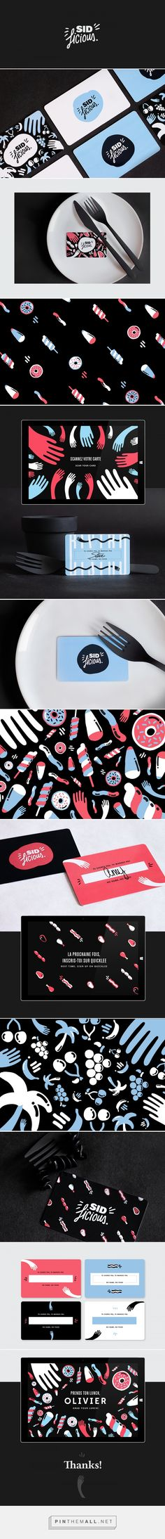 Sid Licious Bistro by Sid Lee on Behance | Fivestar Branding – Design and…