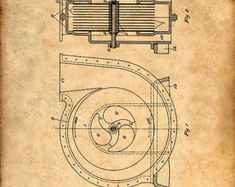 This is a Patent Print for a Tesla Fluid Propulsion. It was invented by Nikola Tesla and it was issued on May 1913 by the United States Patent and Trademark Office. Mechanical Engineering, Electrical Engineering, Nikola Tesla Patents, Tesla Generator, Tesla Turbine, Nicola Tesla, Tesla Inventions, Tesla Coil, Patent Drawing