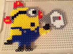 Bee-do... Bee-do... Bee-do!!! I can't believe I made this minion!!