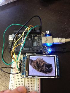 Matthew McMillan: Speed up screen redraws with a BeagleBone Black and Adafruit TFT