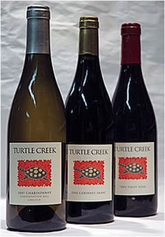 Turtle Creek is a local winery from Lincoln, MA. Making wine from their own grapes now.
