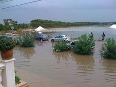 Mallorca - Colonia Sant Jordi unter Wasser