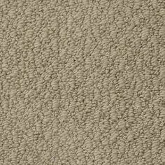 OFF THE CUFF (S) WHEAT Berber/Loop TruSoft® Carpet - STAINMASTER®