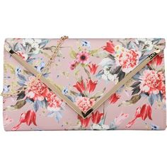 ALDO Clutch 'Campagnano' (150 PEN) ❤ liked on Polyvore featuring bags, handbags, clutches, pink handbags, aldo handbags, pink clutches, aldo purses and aldo